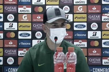 """Emmanuel Olivera: """"Nos faltó el gol, la verdad tuvimos muchas situaciones claras"""""""