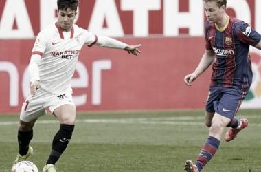 FC Barcelona - Sevilla FC; puntuaciones del Sevilla en semifinales de Copa 2021