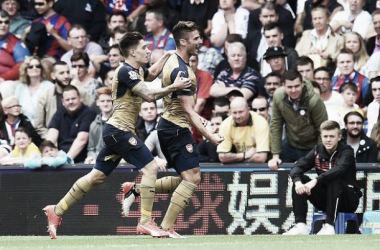 Crystal Palace 1-2 Arsenal: Delaney own goal condemns Palace