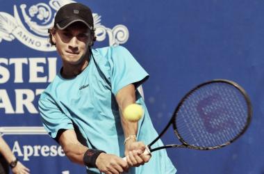 Olivo no pudo con Edmund tras el batacazo en primera ronda (Foto: Página Oficial Renzo Olivo)