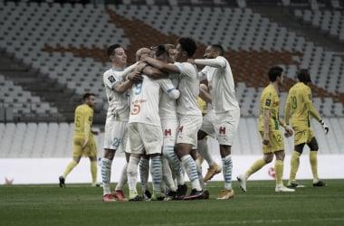 Dominante do início ao fim, Olympique de Marseille vence Nantes com facilidade