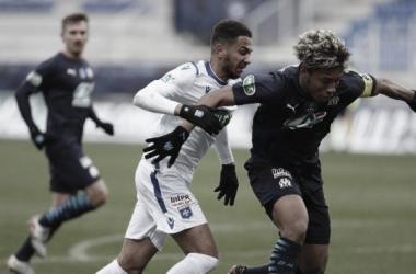 Auxerre 0 a 2 Olympique Marseille (FFF / Divulgação)