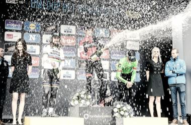 Greg Van Avermaet buscará su triplete consecutivo | Foto: Omloop Het Nieuwsblad