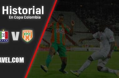 Historial Once Caldas vs Envigado en Copa Colombia