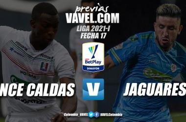 Previa Once Caldas vs Jaguares de Córdoba: lucha asegurada por los tres puntos