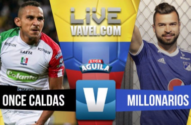 Millonarios ganó (0-1) en Manizales y mantiene viva la ilusión de clasificar