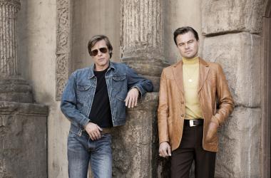 Brad Pitt y Leonardo DiCaprio en Once Upon a Time in Hollywood | Foto: Facebook
