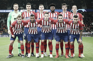 Once del Atlético de Madrid ante el Mónaco / Foto: web oficial del Atlético de Madrid