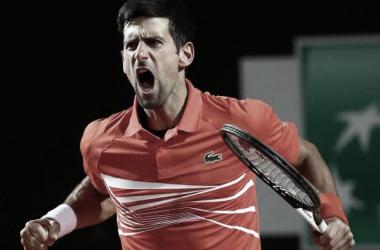 Djokovic vuelve a la final en Roma