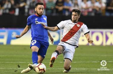 Partido Rayo Vallecano vs Atletic club. Fotografía: La liga