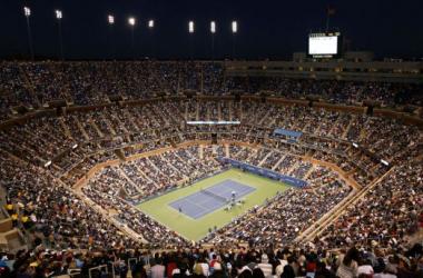 Foto: Vista del Estadio Artur Ashe, recinto que albergará los grandes cotejos del certámen. (Pio Deportes).