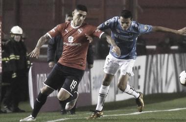 """Pablo """"Tucu"""" Hernández el autor del gol para el Rojo. (Foto: TN)"""