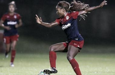 Spirit forward Ordega came up big in last weekend's match. | Source: Washington Spirit