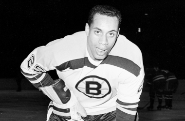 Willie O'Ree, the NHL's first black player, was inducted to the Hockey Hall of Fame on Nov. 12, 2018. (Photo: Associated Press)