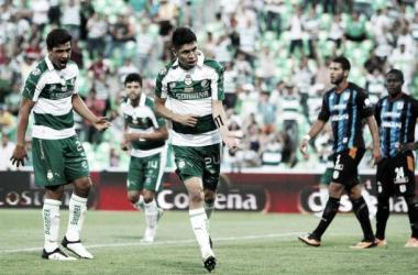 Santos consigue una merecida victoria ante Querétaro