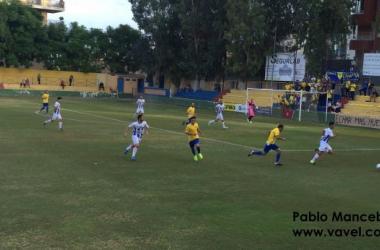 Primera victoria del Orihuela C.F. en Los Arcos