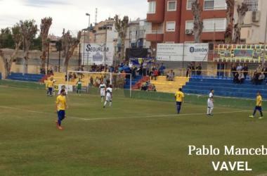 El Orihuela C.F. vuelve a perder en un partido en el que hizo todo menos el gol
