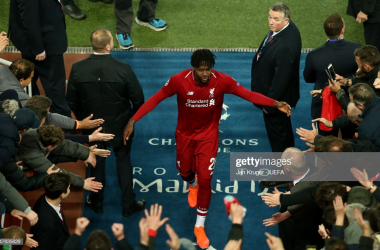 Divock Origi scored the winner on Tuesday night to take Liverpool through to the Champions League final in Madrid (Getty Images)