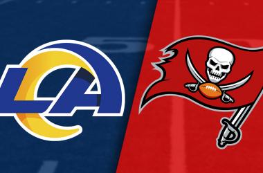 Tampa Bay Buccaneers vs Los Ángeles Rams en VIVO (17-31)  Tom Brady recorta las distancias