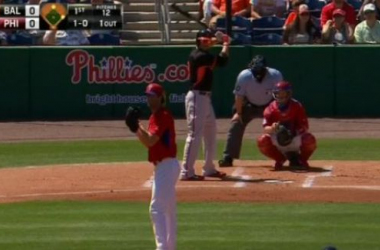 The Orioles hit five home runs Monday. -- www.orioles.mlb.com