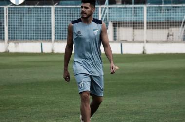 Guillermo Ortiz jugador decano / Foto: Prensa Atletico Tucuman.