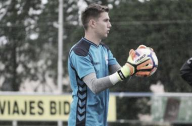 Ortolá durante su primer entrenamiento | Foto: Deportivo Alavés.