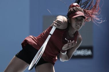 Naomi Osaka venceu Zheng Saisai em Tokyo 2020 (Divulgação / COI)