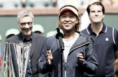 Naomi Osaka é a atual campeã do BNP Paribas Open (Foto: Divulgação/WTA)