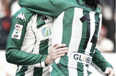 Duelos históricos: Victoria bética en una de las mejores temporadas del Osasuna