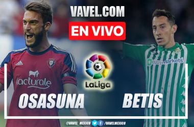 Osasuna vs Real Betis EN VIVO: ¿cómo ver transmisión TV online en LaLiga?