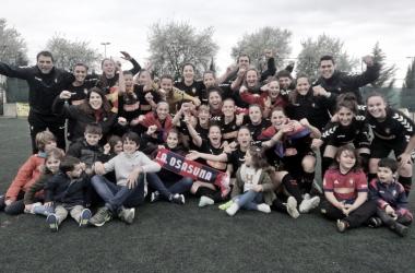 Osasuna se enfrentará al Santa Teresa en las semifinales del playoff
