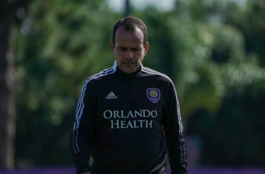 Orlando City manager, Oscar Pareja. (Credit: Orlando City)