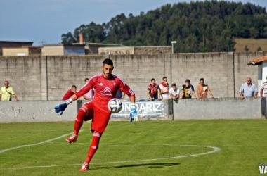 Óscar de Santiago fue un muro infranqueable para el Atlético Astorga.