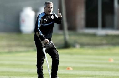 """""""El Maestro"""" Tabárez / Foto: Reuters"""