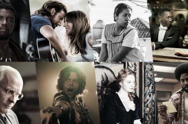 """Afiche con todas las cintas nominadas que compiten en la categoría de mejor película.&nbsp;Fotografía de lomioes.com<p class=""""Maty""""><span lang=""""ES""""><o:p></o:p></span></p>"""