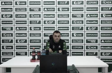 Rueda de prensa de Diego Osella