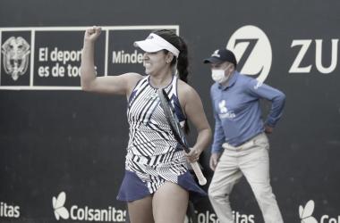 Dona da casa, Osorio Serrano se classifica à final inédita em Bogotá; Zidansek supera Tomova