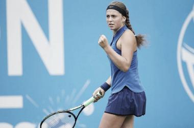 Ostapenko doblega a Kvitova