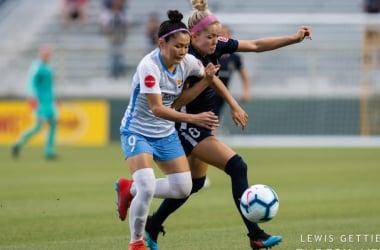North Carolina Courage vs Sky Blue FC: An even result under the rain
