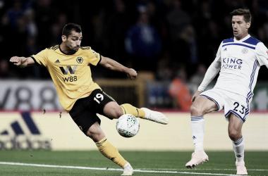 Jonny Otto, en un partido contra el Leicester en la Premier League. I Foto: Wolver