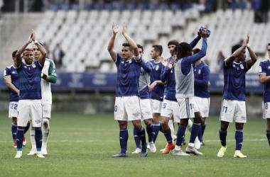 Saúl Berjón se viste de héroe | Imagen: Real Oviedo