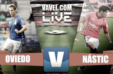 El Real Oviedo se alía con el Tartiere para hundir al Nàstic (1-0)