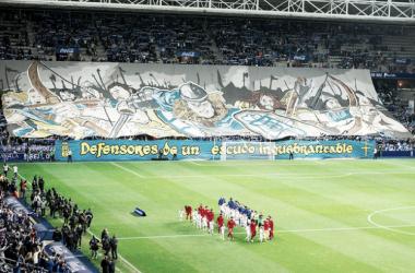 Ambiente en el Tartiere a la ida | Imagen: Real Oviedo