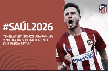 El Atleti ata a Saúl hasta 2026