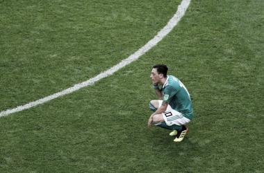 Özil es titular en la eliminación de Alemania
