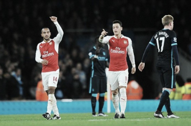 Arsenal 2-1 Manchester City: Impressive Gunners claim vital win