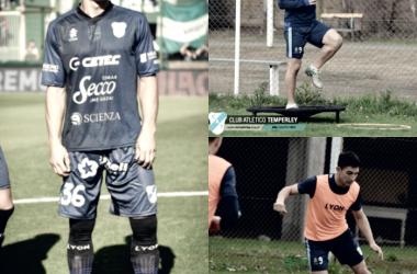 Emiliano Ozuna, vitamina para Temperley. Foto | Prensa Temperley
