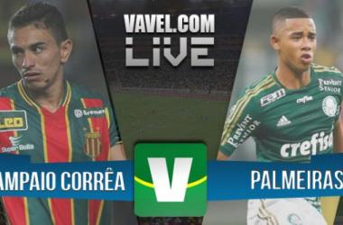 Sampaio Corrêa x Palmeiras pela Copa do Brasil 2015 (1-1)