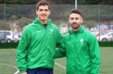 Jon Garrido y Kike Márquez, nuevos refuerzos racinguistas para el centro del campo