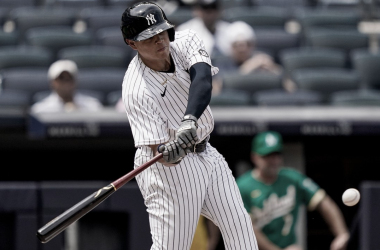 Gio Urshela conectó su noveno vuelacerca de la temporada Foto: MLB